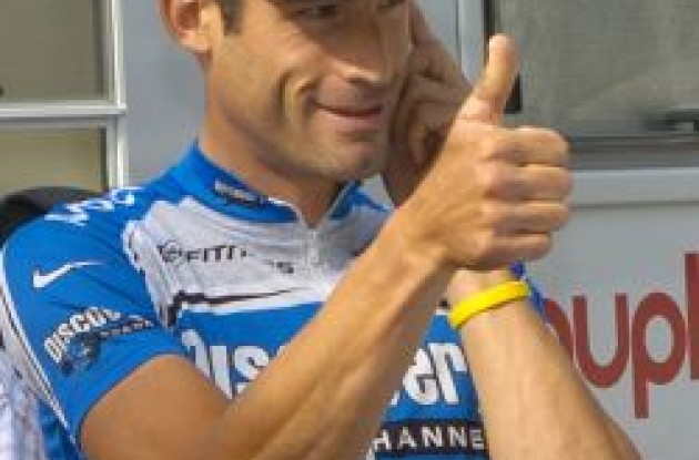 George Hincapie - Temporary Team Discovery boss?