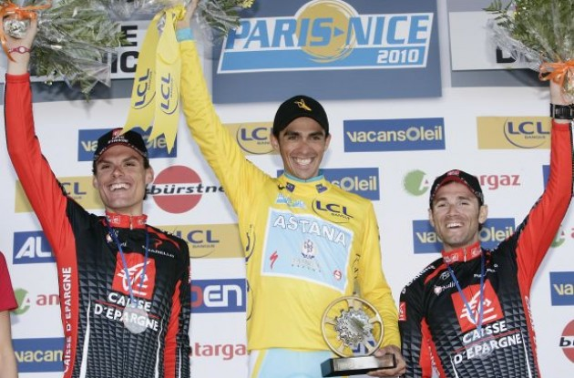 Tour of Spain champion Alejandro Valverde (Team Caisse d'Epargne). Photo copyright Fotoreporter Sirotti.