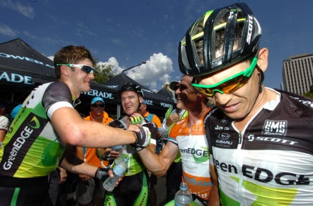 Team GreenEdge is ready to fight for stage wins in the Vuelta a Espana 2012. Photo Fotoreporter Sirotti.