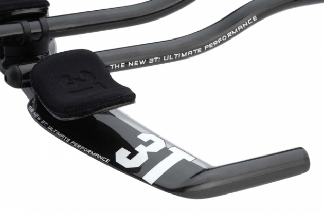 The New 3T Brezza LTD time trial aerobars.