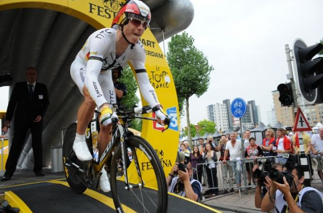 Germany's Tony Martin (Team HTC-Columbia). Photo copyright Fotoreporter Sirotti.