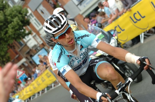 Tony Martin exits 2012 Tour de France after crash. Photo Fotoreporter Sirotti.