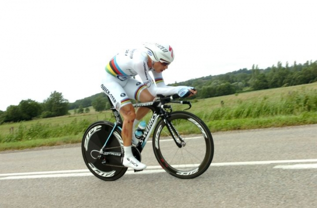 World Champion Tony Martin (Team Omega Pharma-QuickStep). Photo Fotoreporter Sirotti.