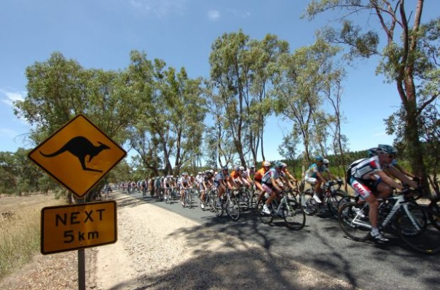 Tour Down Under. Visit Australia :-) Photo copyright Fotoreporter Sirotti.