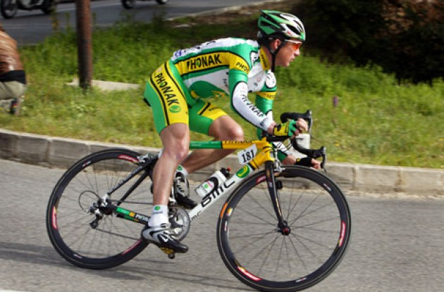 Tyler Hamilton - Will he win this year's Tour de France? Photo copyright Lars Ronbog.