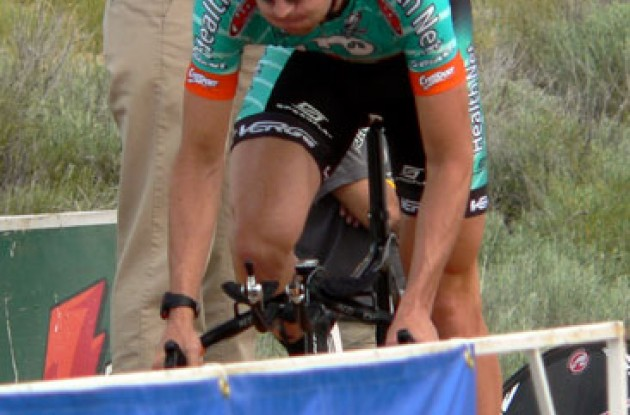 Chris Wherry (HealthNet-Maxxis). Photo copyright Tommy Murphy/Roadcycling.com.