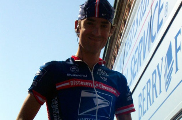 Michael Barry is ready for the remaining part of the 2004 season. Photo copyright Roadcycling.com.