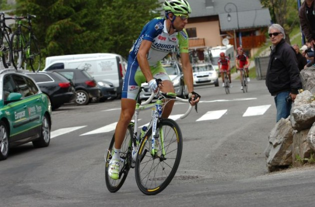 Vincenzo Nibali (Liquigas-Cannondale). Photo Fotoreporter Sirotti.