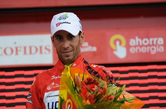 Vincenzo Nibali - will he keep his overall race lead in the 2010 Vuelta a Espana in tomorrow's crucial mountain stage? Stay tuned to Roadcycling.com and Roadcycling.mobi to find out! Photo copyright Fotoreporter Sirotti.