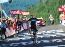 Chris Froome is ready for his role as Team Sky captain in the 2012 Vuelta a Espana. Photo Fotoreporter Sirotti.